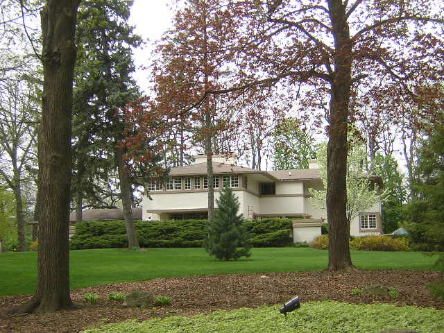 A.W. Gridley House, Batavia Illinois, Frank Lloyd Wright architect