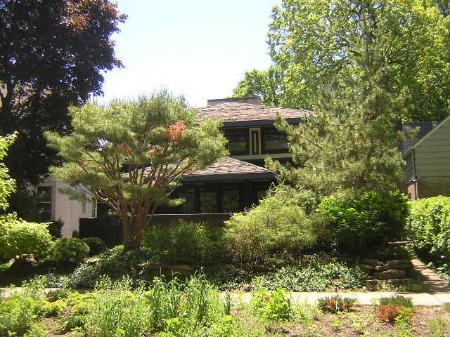 Charles A. Brown House, Evanston Illiniois, Frank Lloyd Wright Architect