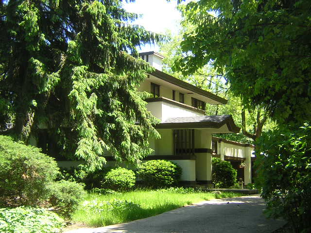 Charles R. Perry House, Glencoe, Illinois, Frank Lloyd Wright architect