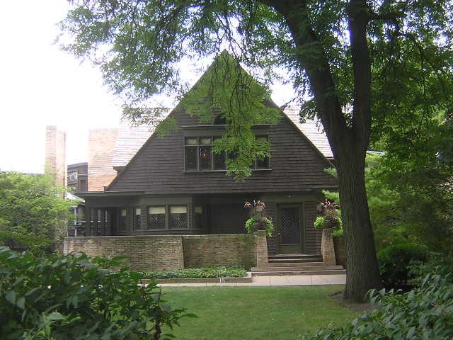Frank Lloyd Wright Home, Oak Park, Illinois