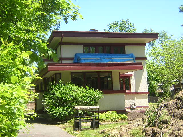 Kissam House, Glencoe, Illinois, Frank Lloyd Wright architect