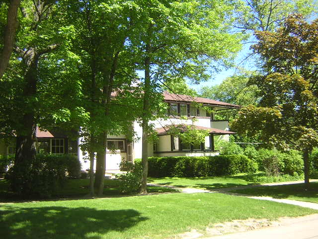 Mary Adams House, Highland Park, Illinois, Frank Lloyd Wright architect