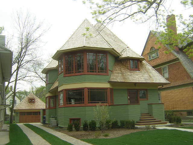 Thomas H. Gale House, Oak Park, Il. Frank Lloyd Wright architect