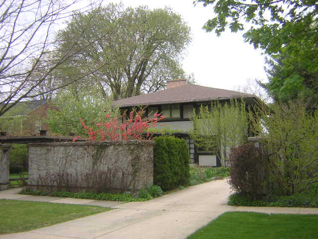 P.D. Hoyt House, Geneva, Illinois, Frank Lloyd Wright architect