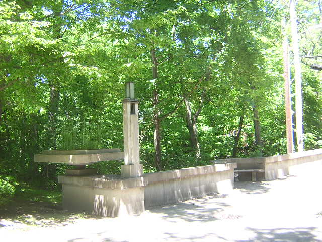 Ravine Bluffs Bridge, Frank Lloyd Wright architect