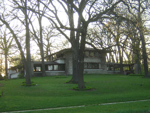 Raymond W. Evans House, Chicago, Illinois, Frank Lloyd Wright architect