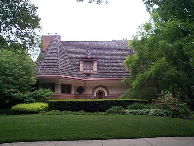 Chauncy Williams House, River Forest, Illinois, Frank Lloyd Wright architect