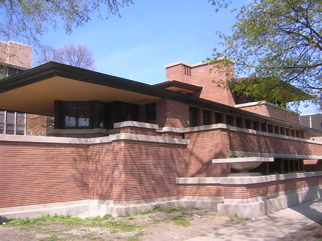 Frederick c robie house by frank lloyd wright architect for Fredrick house