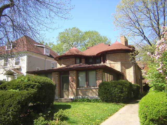 George W. Furbeck House, Oak Park, Illinois, Frank Lloyd Wright architect