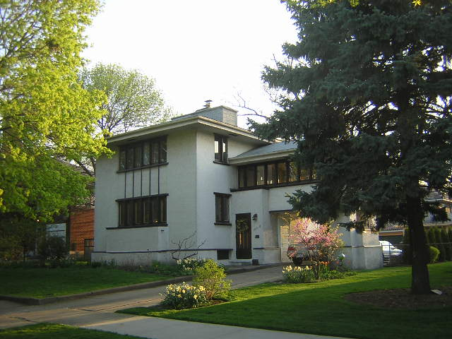 Guy C. Smith House, American System Built, Frank Lloyd Wright architect