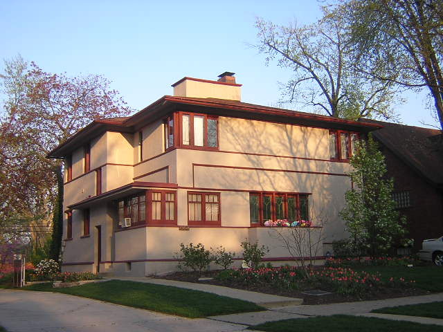 H. Howard Hyde House, American System Built, Frank Lloyd Wright architect