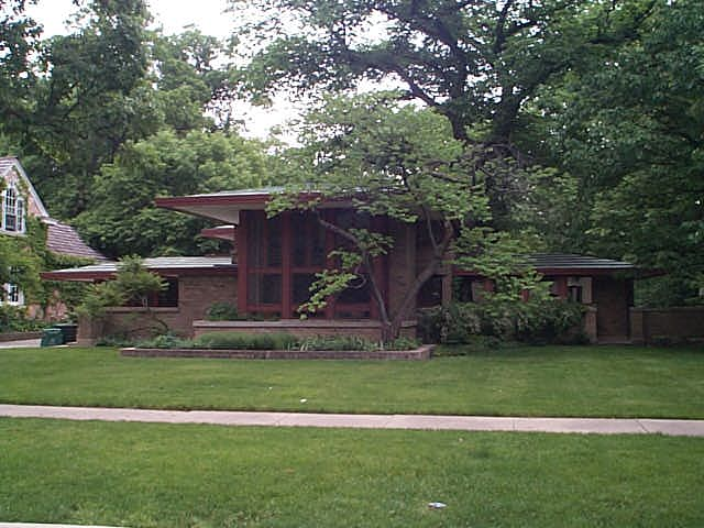 Isabel Roberts House, River Forest, llinois, Frank Lloyd Wright architect