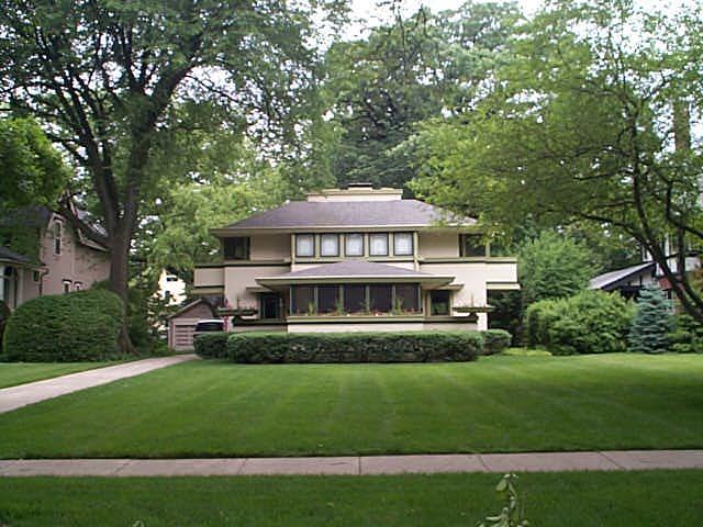 The j kibben ingalls house by frank lloyd wright for Frank lloyd wright river house