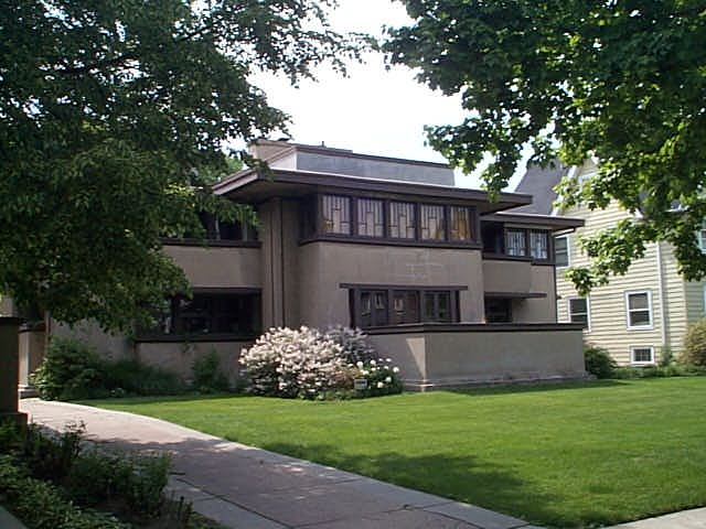 Oscar B. Balch House, Oak Park, Illinois, Frank Lloyd Wright architect
