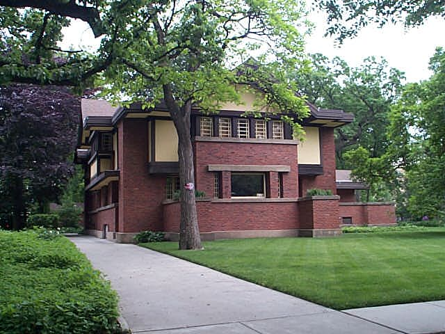 Peter A. Beachey House, Oak Park, Illinois, Frank Lloyd Wright architect