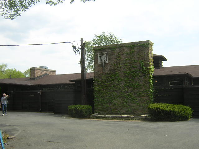 River Forest Tennis Club, Frank Lloyd Wright architect