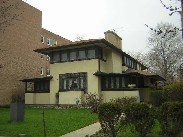 Wasler House, Chicago, Il. Frank Lloyd Wright architect